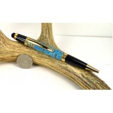 Light Blue Circuit Board Sierra Stylus Pen